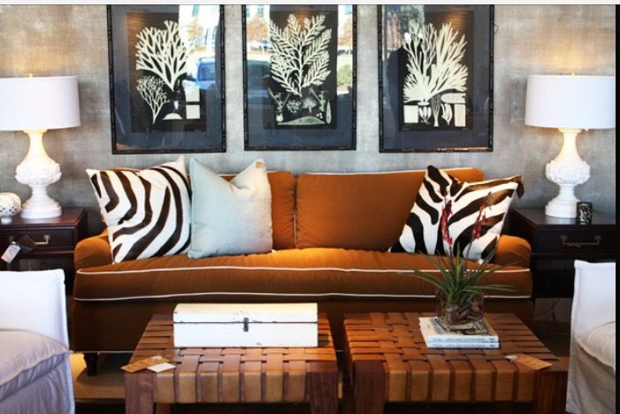Pin By Aa Pp On Living Rooms Brown Living Room Brown Living Room Decor Trendy Living Room Wallpaper
