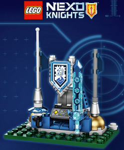 FREE LEGO Nexo Knights Shield Dock at Toys R Us on 2/20 on http://hunt4freebies.com