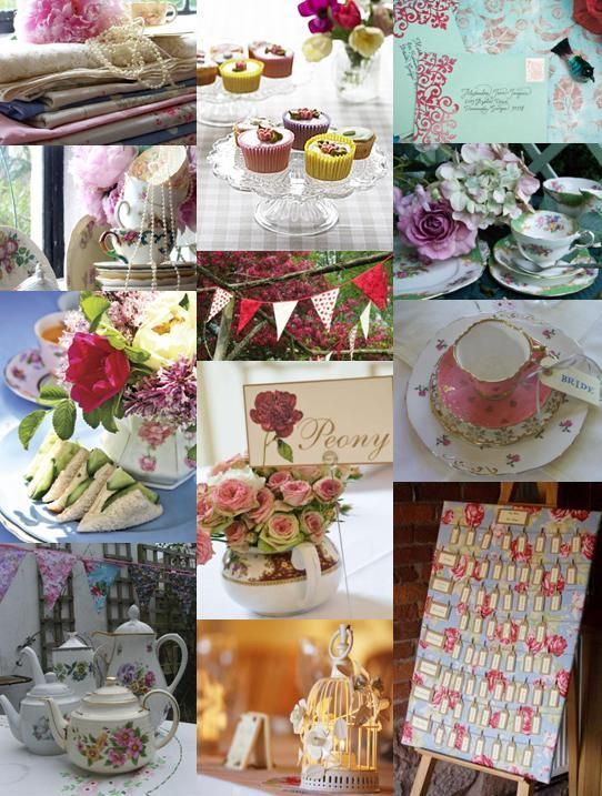 English Garden Party Wedding Theme From The Community