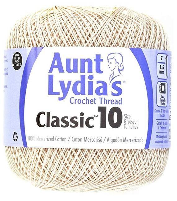Cotton Classic Size 10 Shades Of Blue Coats Crochet Aunt Lydia/'s Crochet