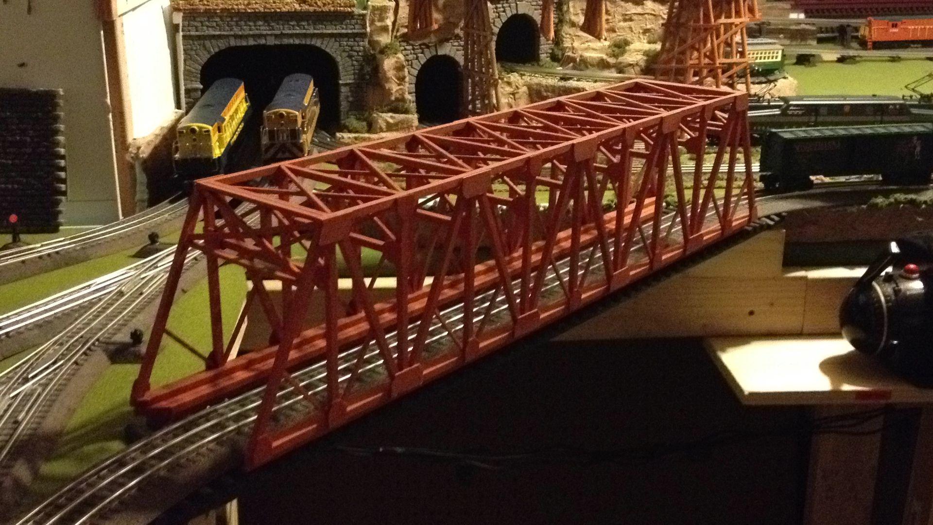 O Scale Steel Bridge