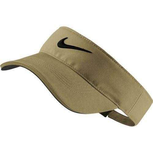 Nike Golf Tech Tour Adjustable Visor - Khaki Anthracite Black  cc7491010b4