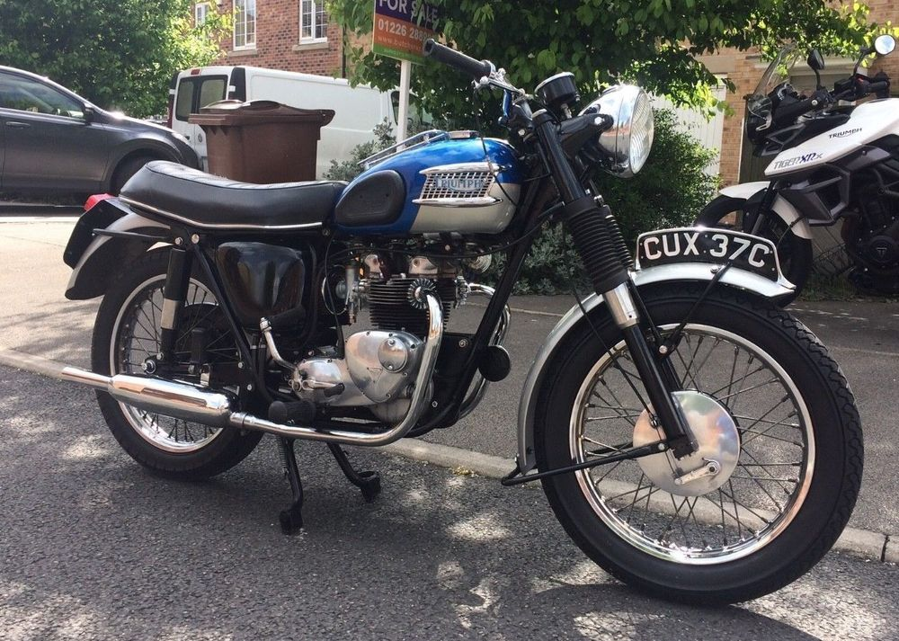 eBay: 1965 Triumph Tiger T90 - Excellent condition