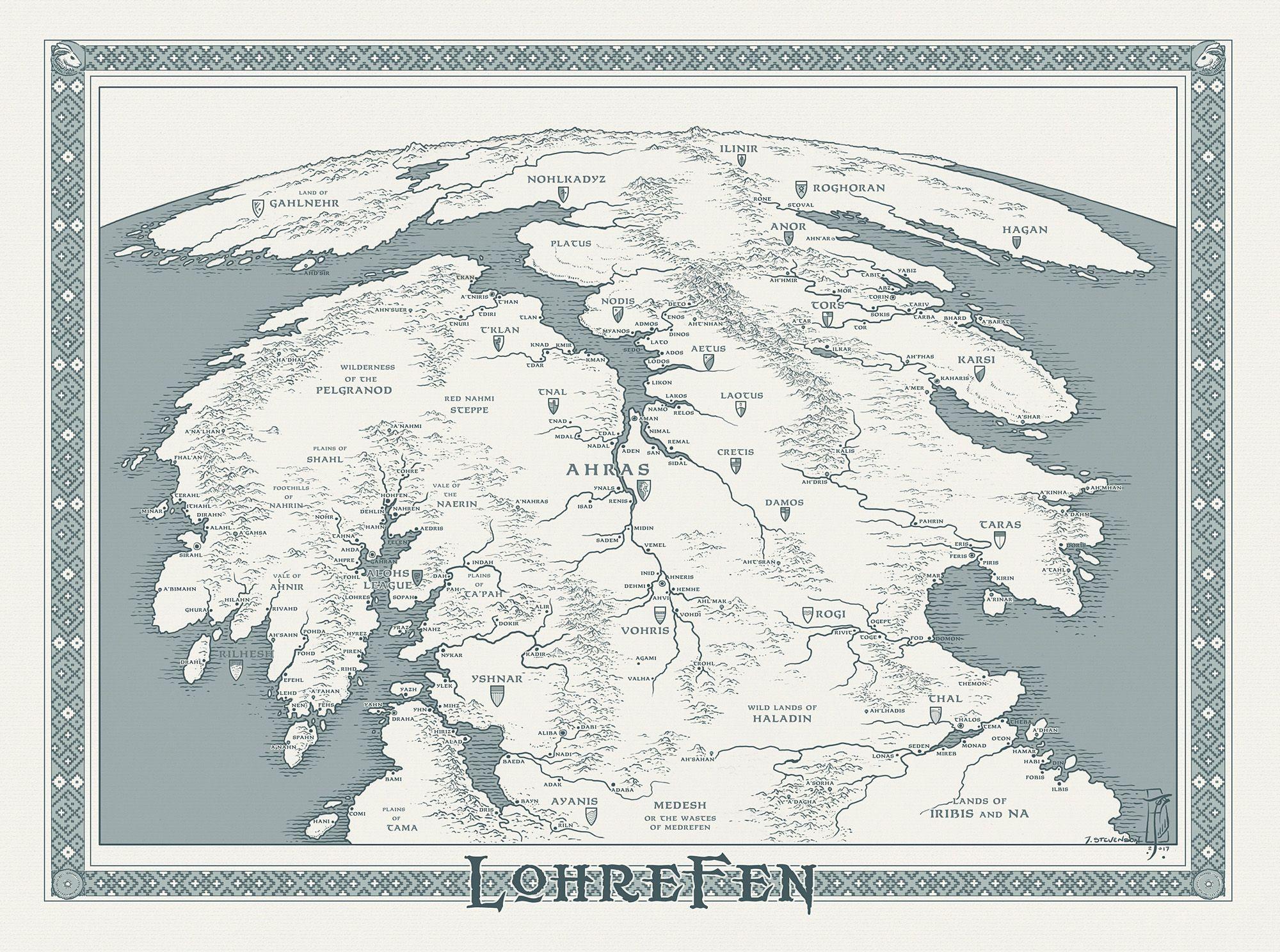 Lohrefen by sirinkman 技術 pinterest fantasy map and sketches