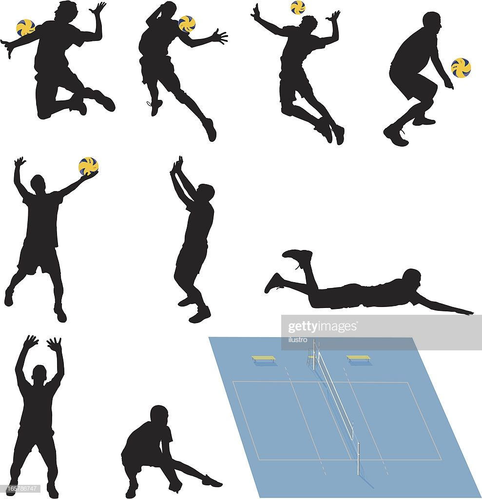 Most Applicable Positions Volleyball Volleyball Court In Proper In 2020 Stock Illustration Illustration Free Vector Art
