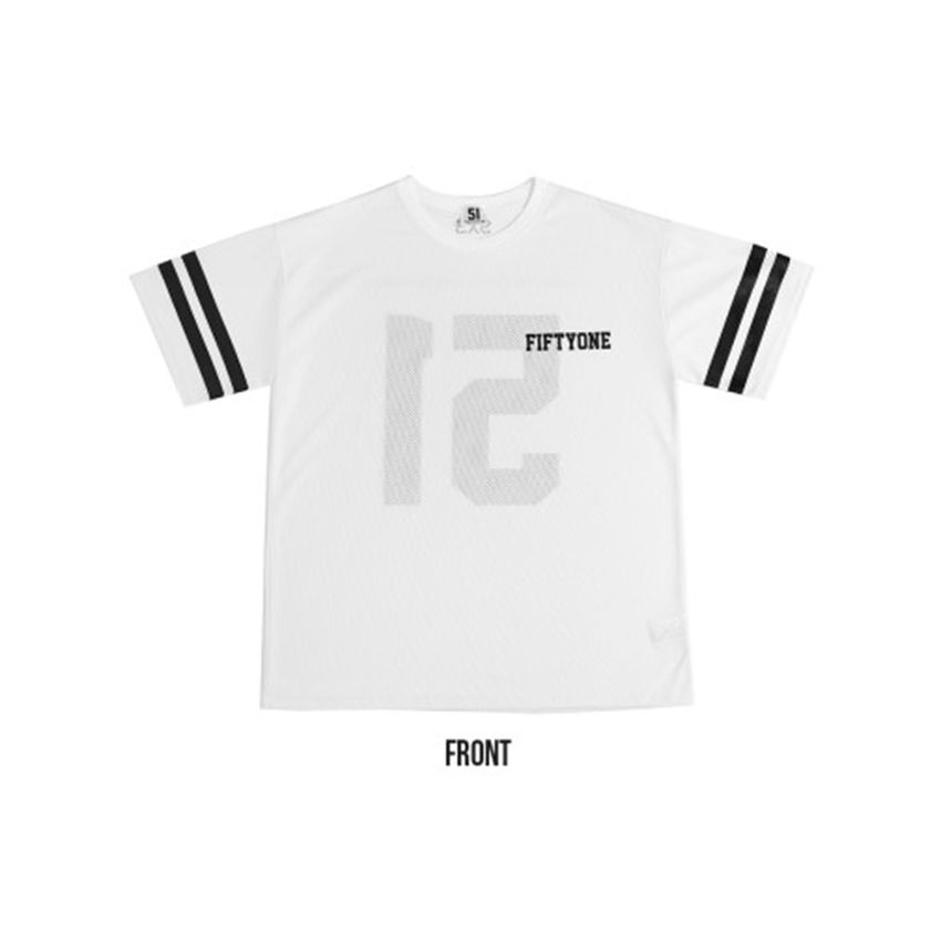"""K2POP - 2015 SO JI SUB FANMETTIG """"LET'S GO TOGETHER"""" OFFICIAL GOODS : MESH 51 T-SHIRTS"""