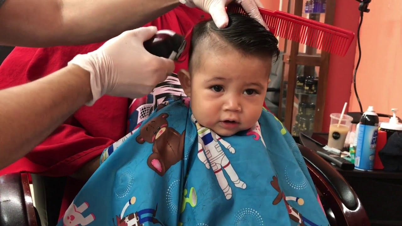 6 month old gets haircut - youtube   alberto fam   6 month