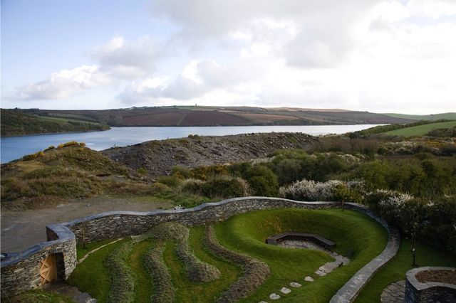 Landscape Designer Visit: Spirals in Stone on the Cornish Coast by Mary Reynolds