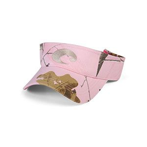8697eaefb3 Camouflage Hats for Women - Costa Del Mar Cotton Visor - Pink Camo ...