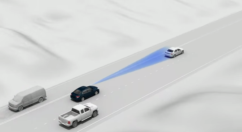 Subaru Eyesight with Adaptive Cruise Control Subaru