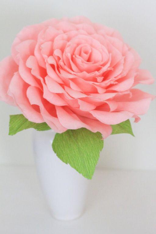 Top 8 giant paper flowers handmade flowers tutorials pinterest fabric flowers mightylinksfo