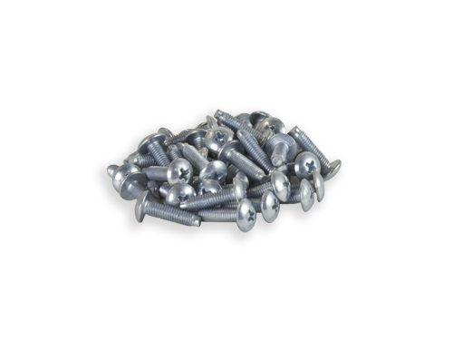 10 32 Pilot Point 75 Zinc Rack Screws 50 Pack Usa Made Pilot Point Zinc Hardened Steel