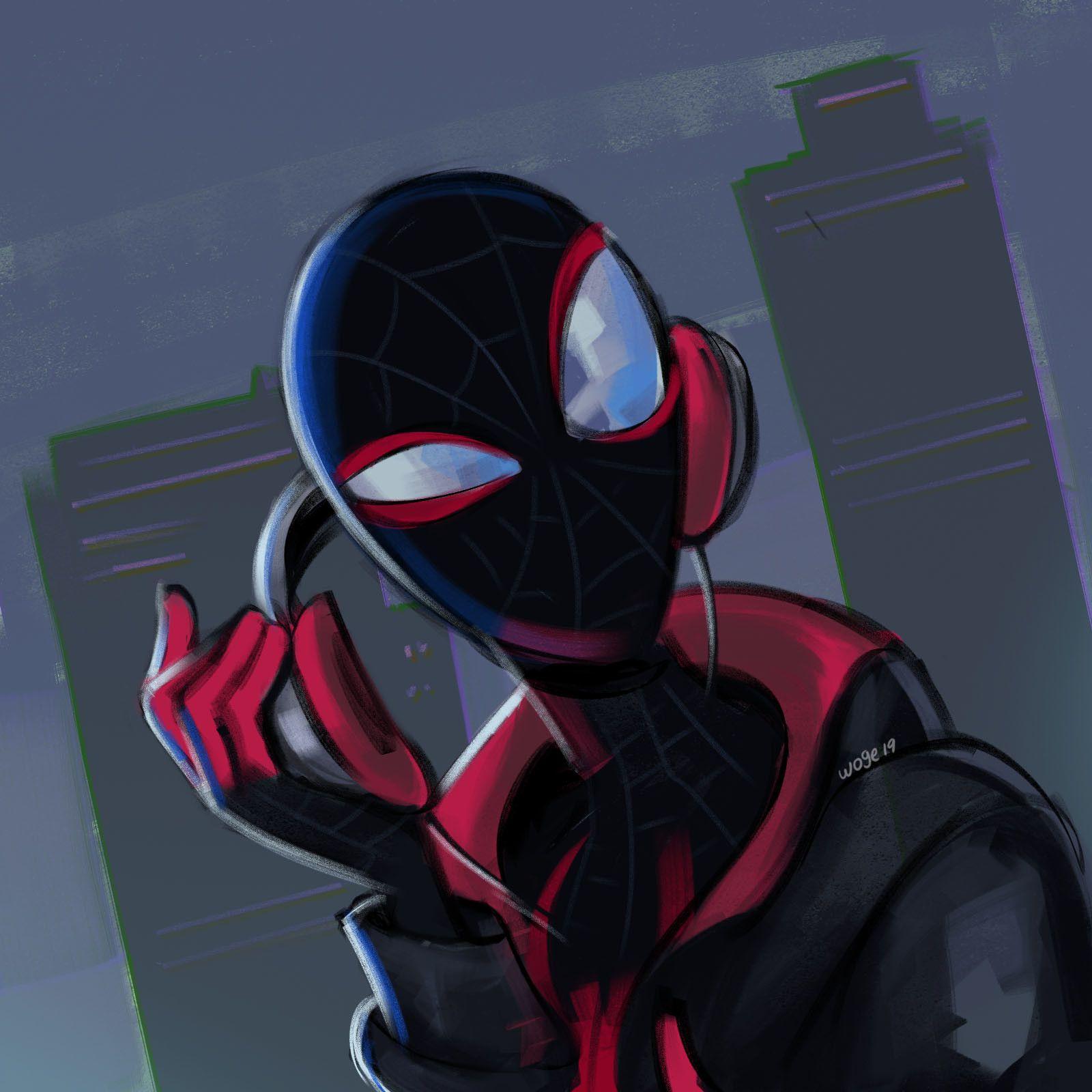 Miles Fanart Spiderman Spiderman Artwork Marvel Spiderman