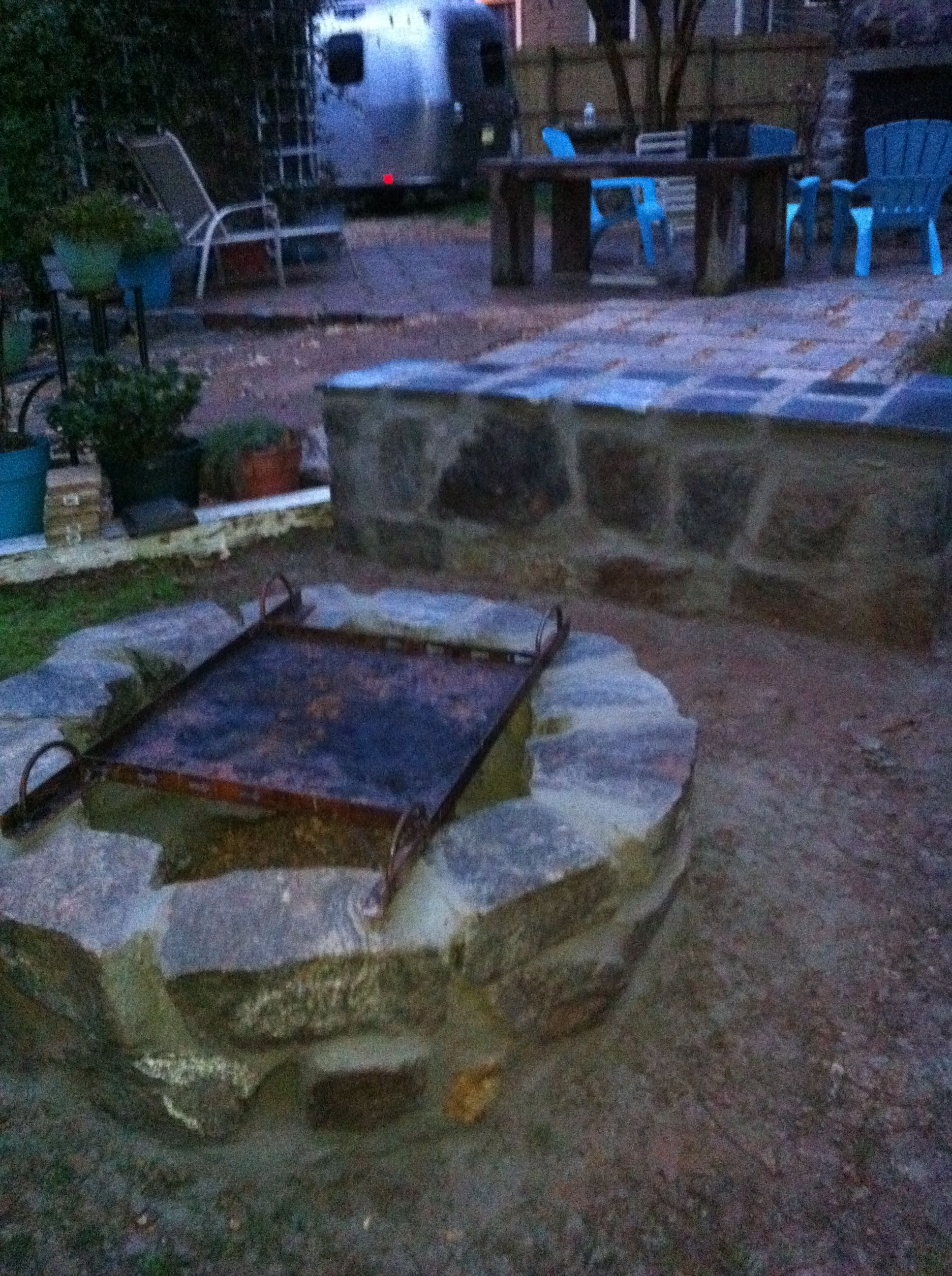 Fire Pit And Bench By Roostic Oyster Steamer By Aldo