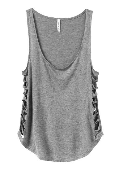 RVCA Slashed Top