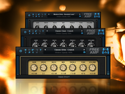 Blue Cat S Free Amp The Free Guitar Amp Sim Plug In Vst Au Aax Vst3 Freeware Guitar Amp Audio Guitar