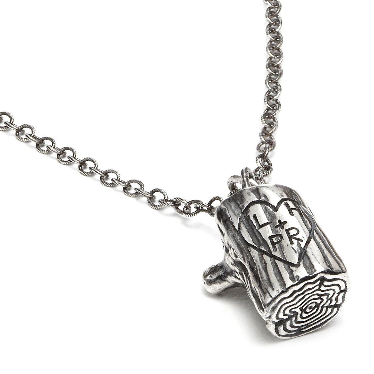 Heart silver pendant by Ruff
