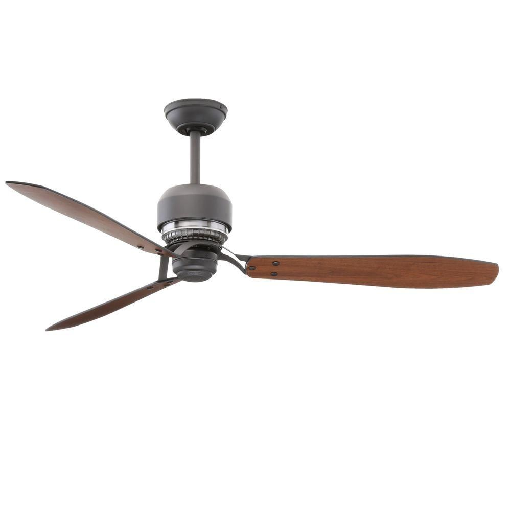 Casablanca Tribeca 60 In. Graphite Ceiling Fan With 4 Speed Wall Mount  Control