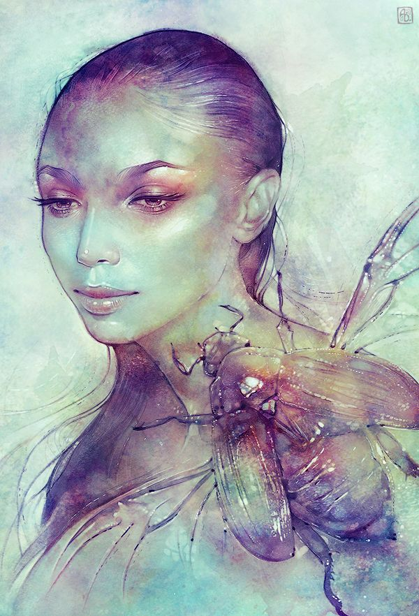 Adorn by Anna Dittmann, via Behance