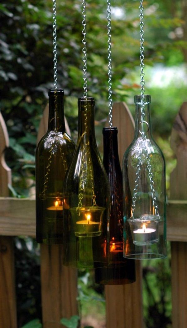 60 cool wine bottles craft ideas wine bottle crafts bottle and wine 60 cool wine bottles craft ideas solutioingenieria Image collections