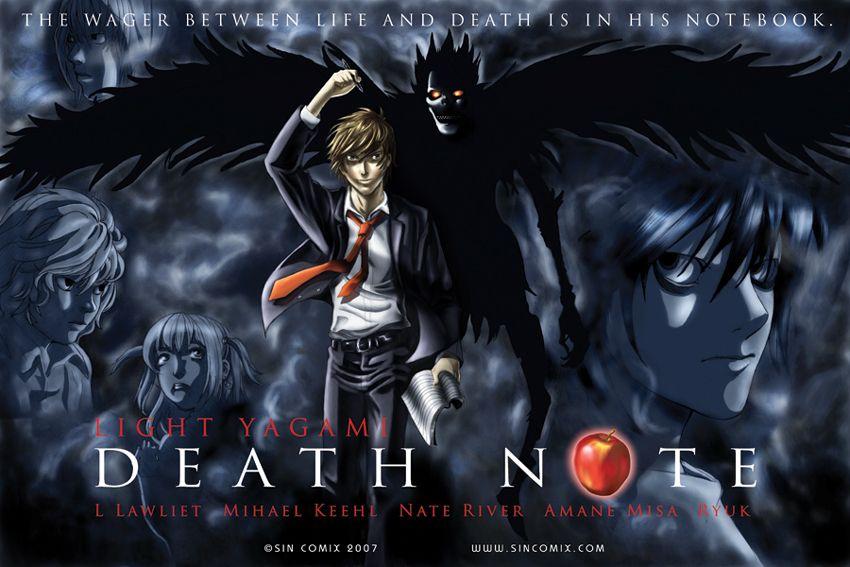 Death Note Death Note poster Death Note Pinterest Death note - death note