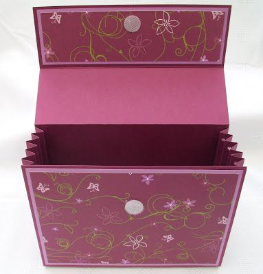 Stamping Moments: Rich Razzleberry Box Stamp Class