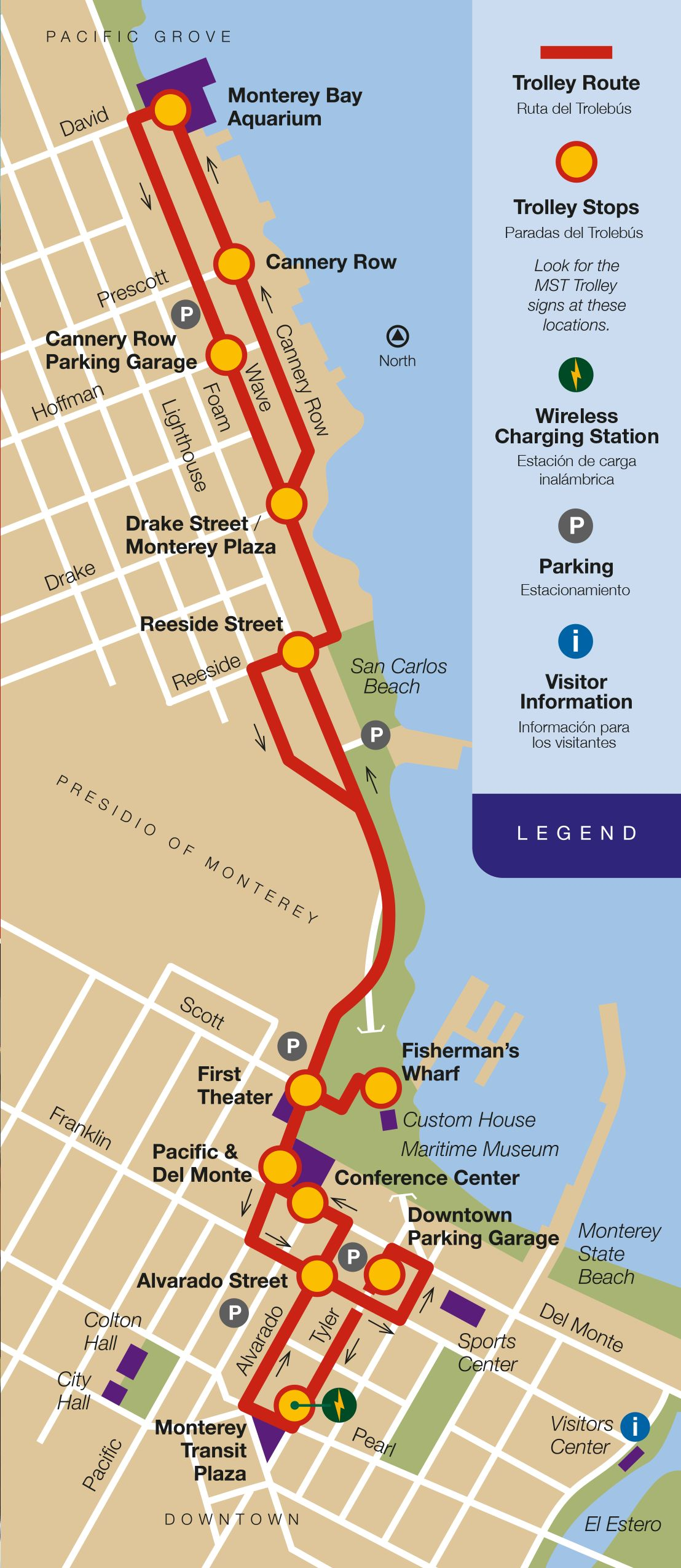 Monterey Trolley Map | San Francisco in 2019 | City of ... on map of washington national parks, map of missoula parks, map of sarasota parks, map of western state parks, map of green bay parks, map of concord parks, map of tallahassee parks, map of new haven parks, map of alhambra parks, map of berkeley parks, map of milwaukee parks, map ca parks, map of billings parks, map of allentown parks, map of u.s. state parks, map of maricopa county parks, map of singapore parks, map of savannah parks, map of simi valley parks, map of riverside county parks,