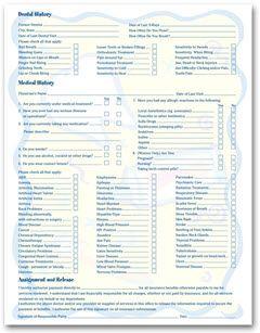 Blank Po Form Twosided Smile Helpers Design Registration & History Form Size .