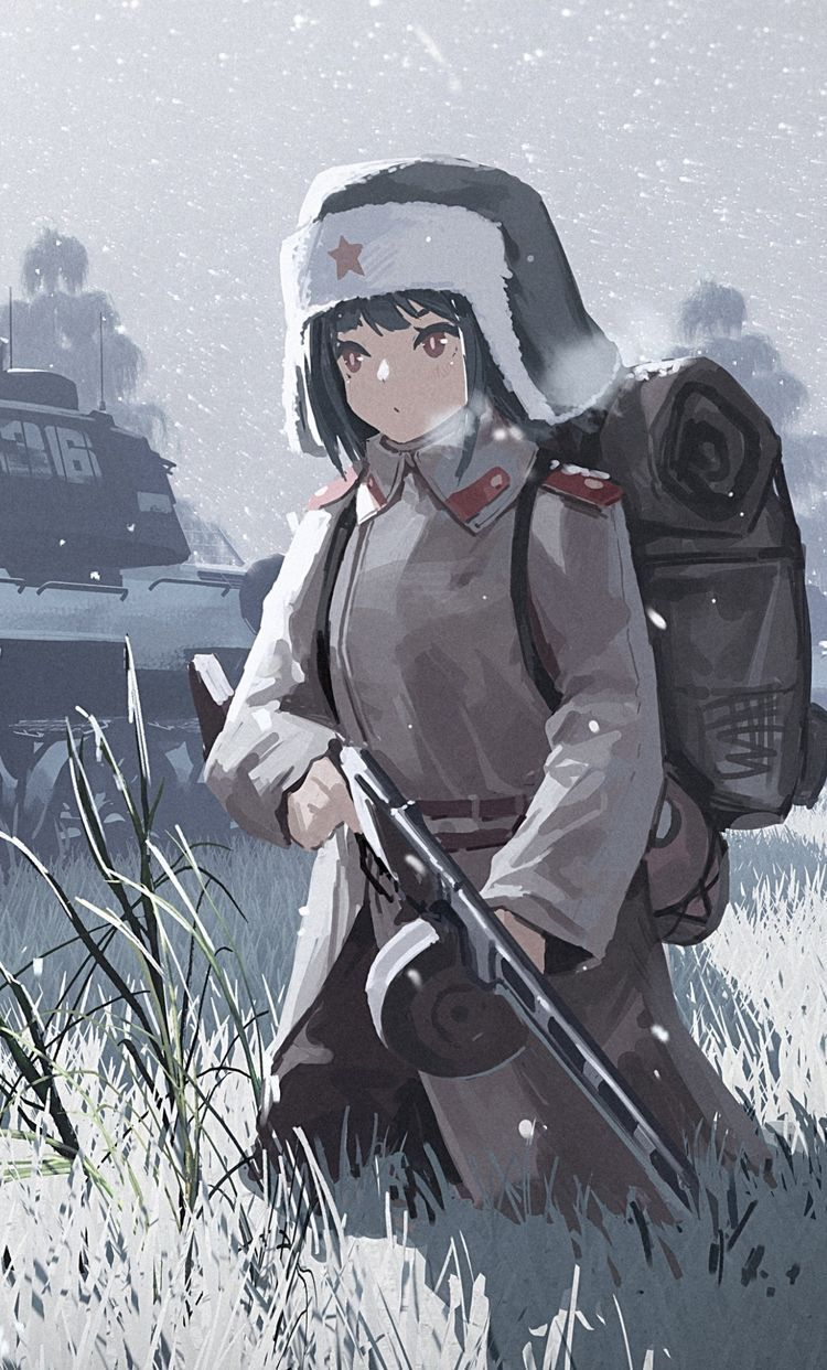 Pin on WW2 Anime