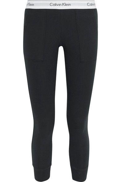 57dfbb6bd178 CALVIN KLEIN UNDERWEAR CALVIN KLEIN UNDERWEAR - MODERN COTTON-JERSEY TRACK  PANTS - BLACK. #calvinkleinunderwear #cloth #