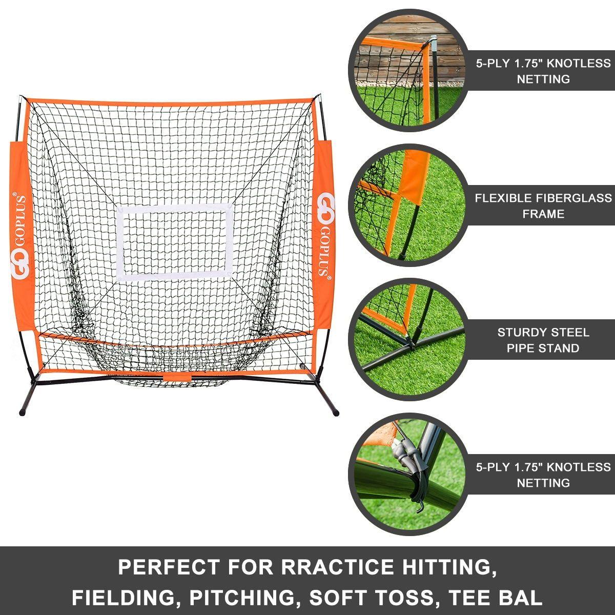 5 5 Practice Hitting Baseball Net Baseball Baseball Pitching Baseball Training