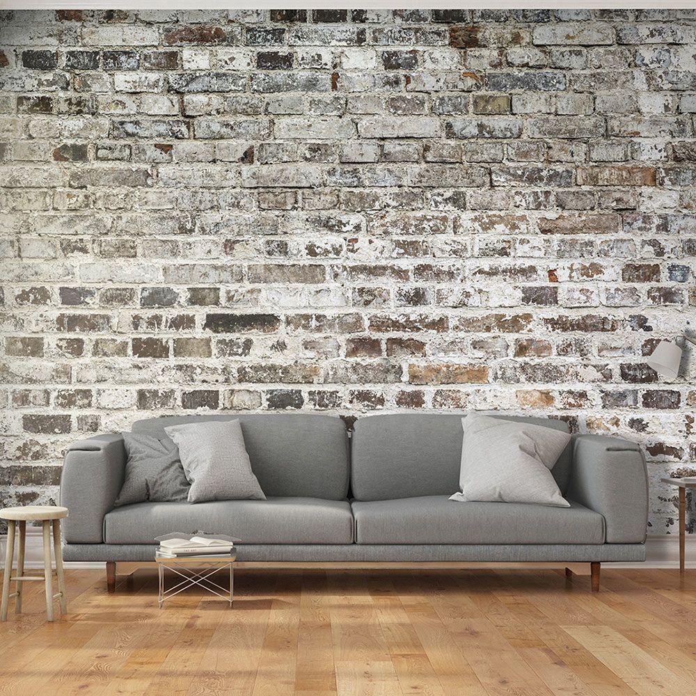 papier peint déco effet mur de briques (GiFi-18X)  Tapisserie
