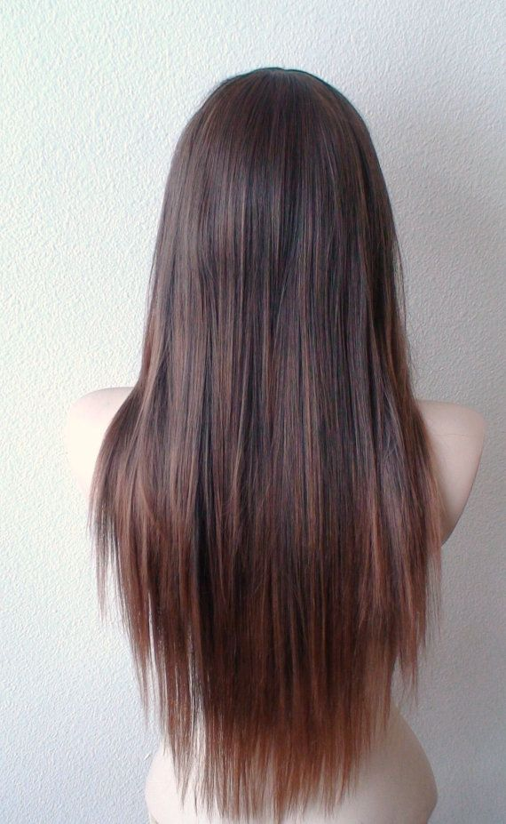 Fabulous Long Straight Hairstyles With Brown Highlights 2018 Stylesmod Balayage Straight Hair Straight Hairstyles Brown Straight Hair