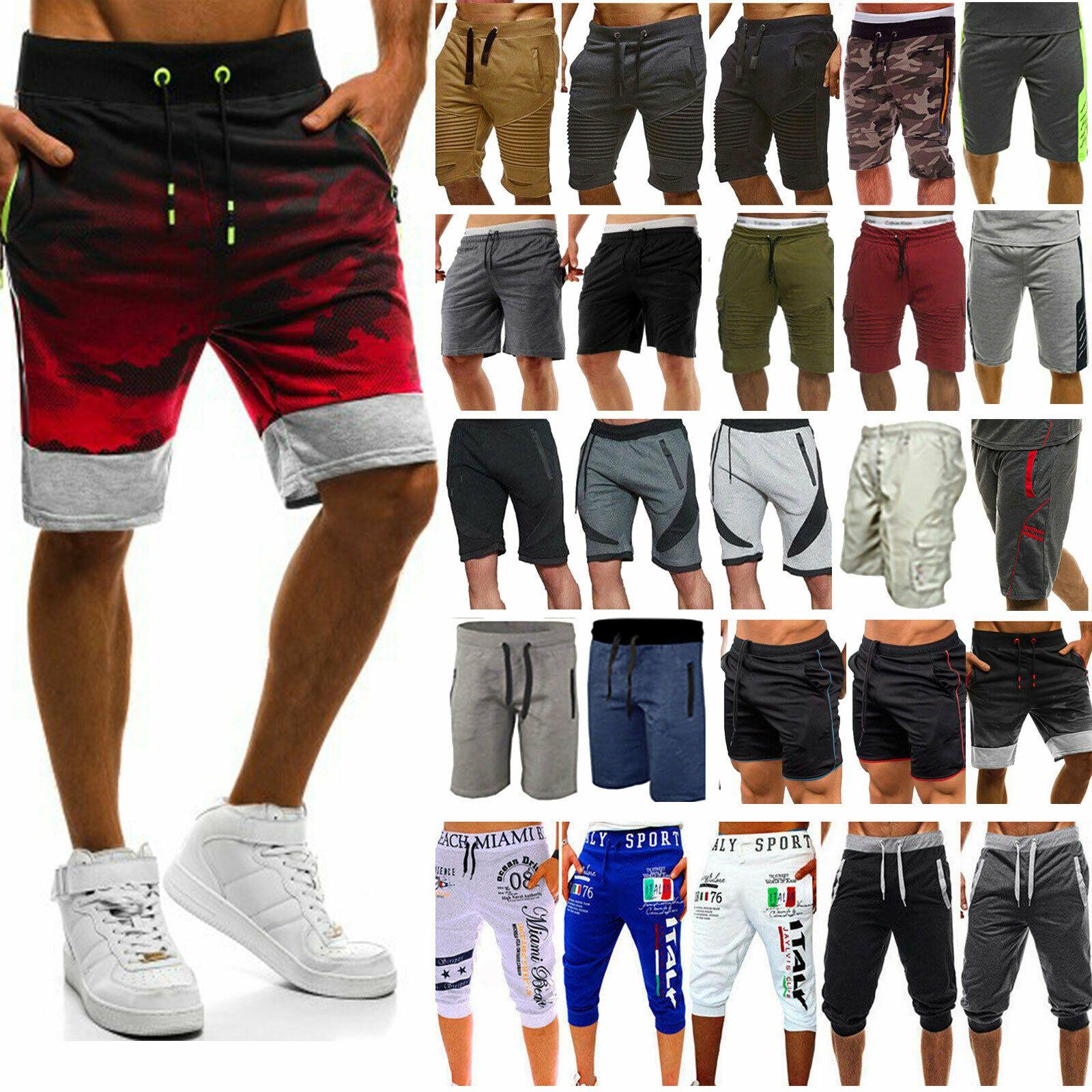 Men Summer Sport Shorts Casual Joggers Jogging Workout Fitness Gym Sweat Pants Ideas Of Mens Workout Pants Mensworkoutpa En 2020 Hombres Estilos De Hombres Estilos