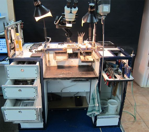 How To Build A Mobile Portable Jewelers Workbench Diy