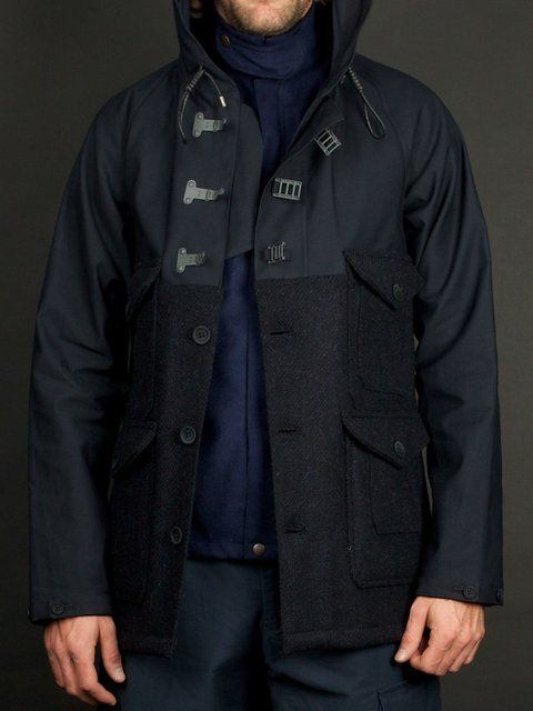 56e243dea507 Nigel Cabourn Cameraman Jacket - I really like the two different closure  types.