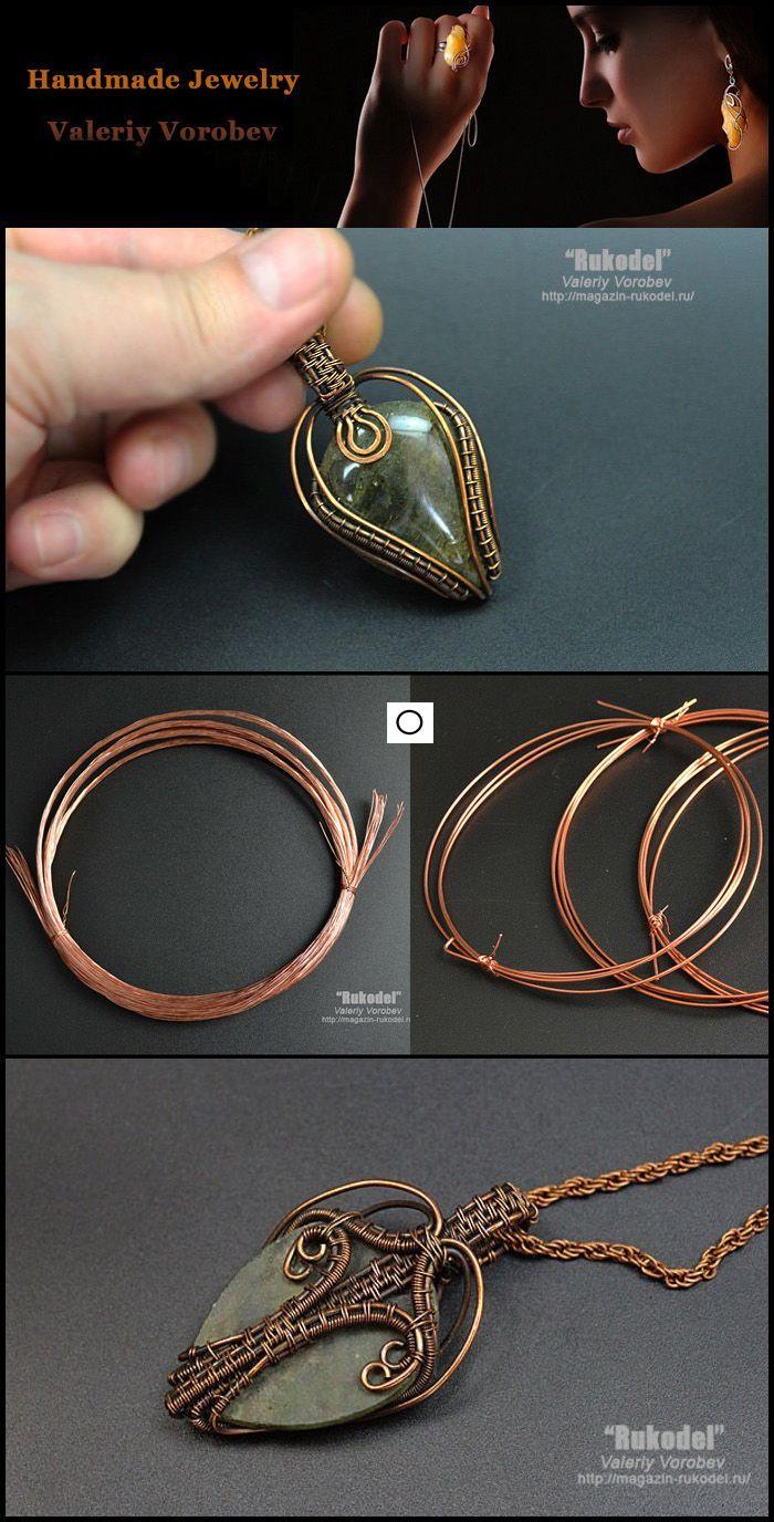 Photo of wire wrap tutorials, wire wrap, wire wrapped, wire jewelry, handmade, wire work, handmade jew…