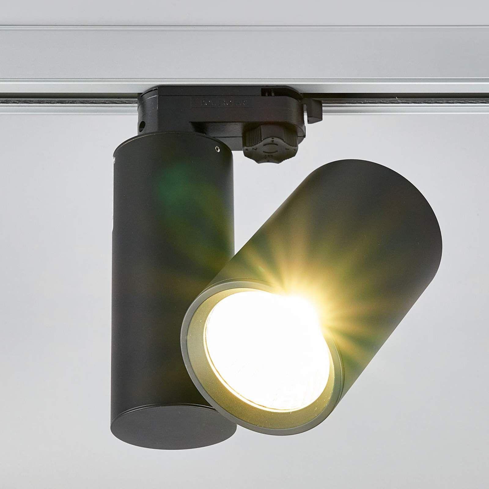 3 Phasen Stromschiene Von Lampenwelt Com Schwarz Led Strahler Led Und Strahler