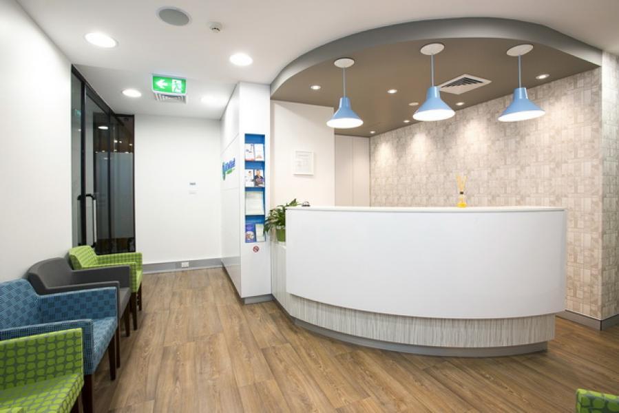 Clinic Waiting Area Interior Design Google Search Reception Design Reception Counter Design