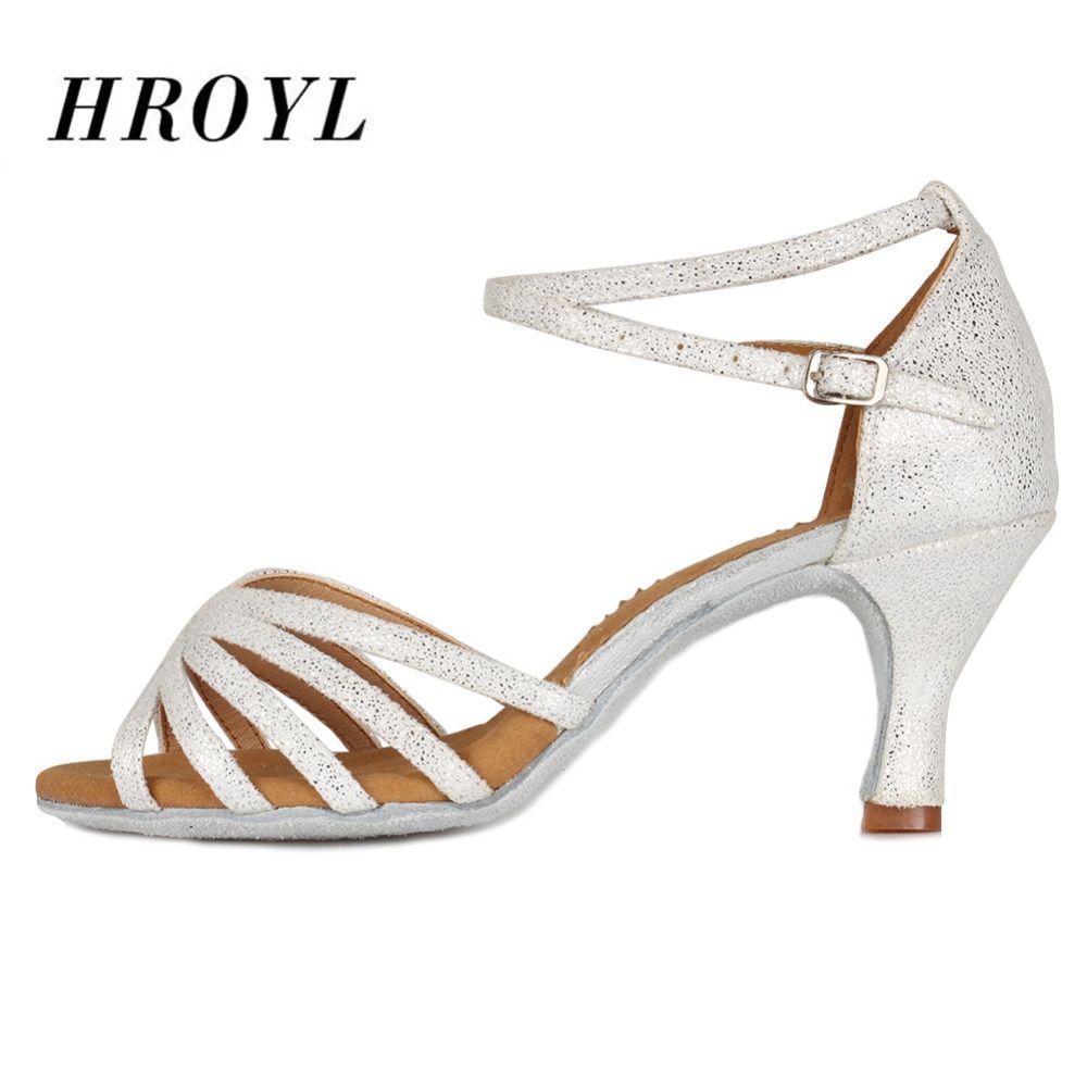 Ballroom Ladies women girls/' salsa tango latin dance shoes heeled dancing shoes