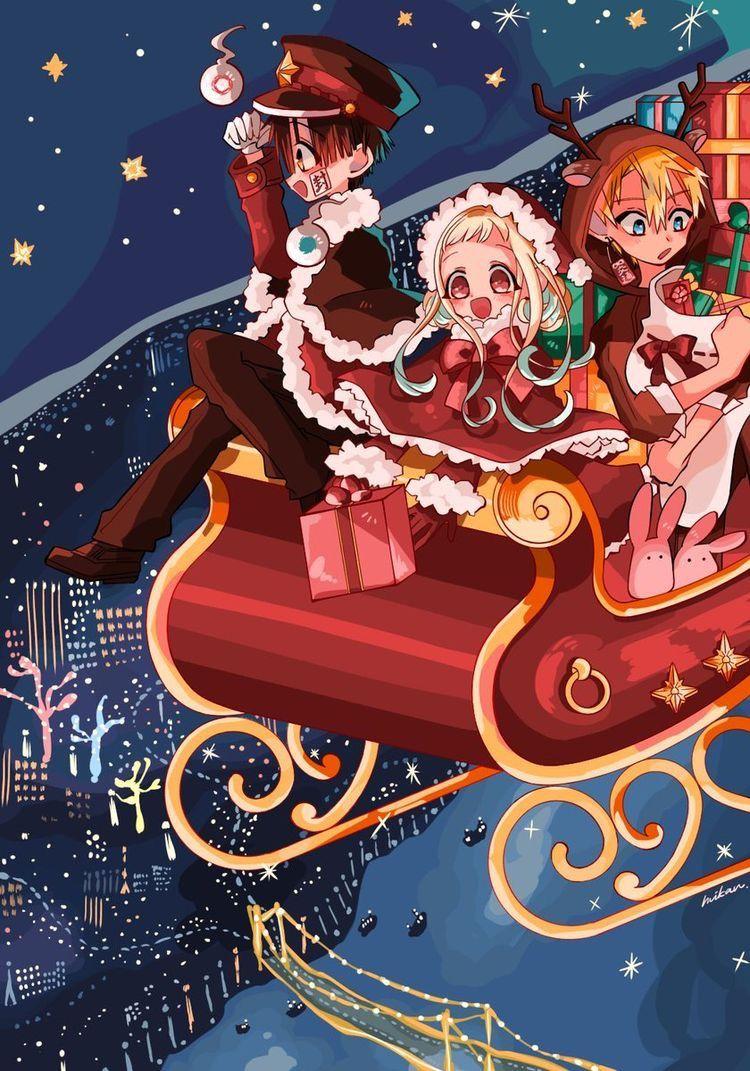 Ta Bonito Aunque No Sea Diciembre In 2020 Anime Christmas Anime Hanako