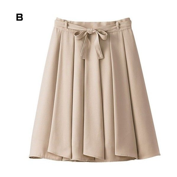 [IMAGE] Ruffled Skirt (w/Matching Bow) Spring 2015 New Item, Ladies' (£24) ❤ liked on Polyvore