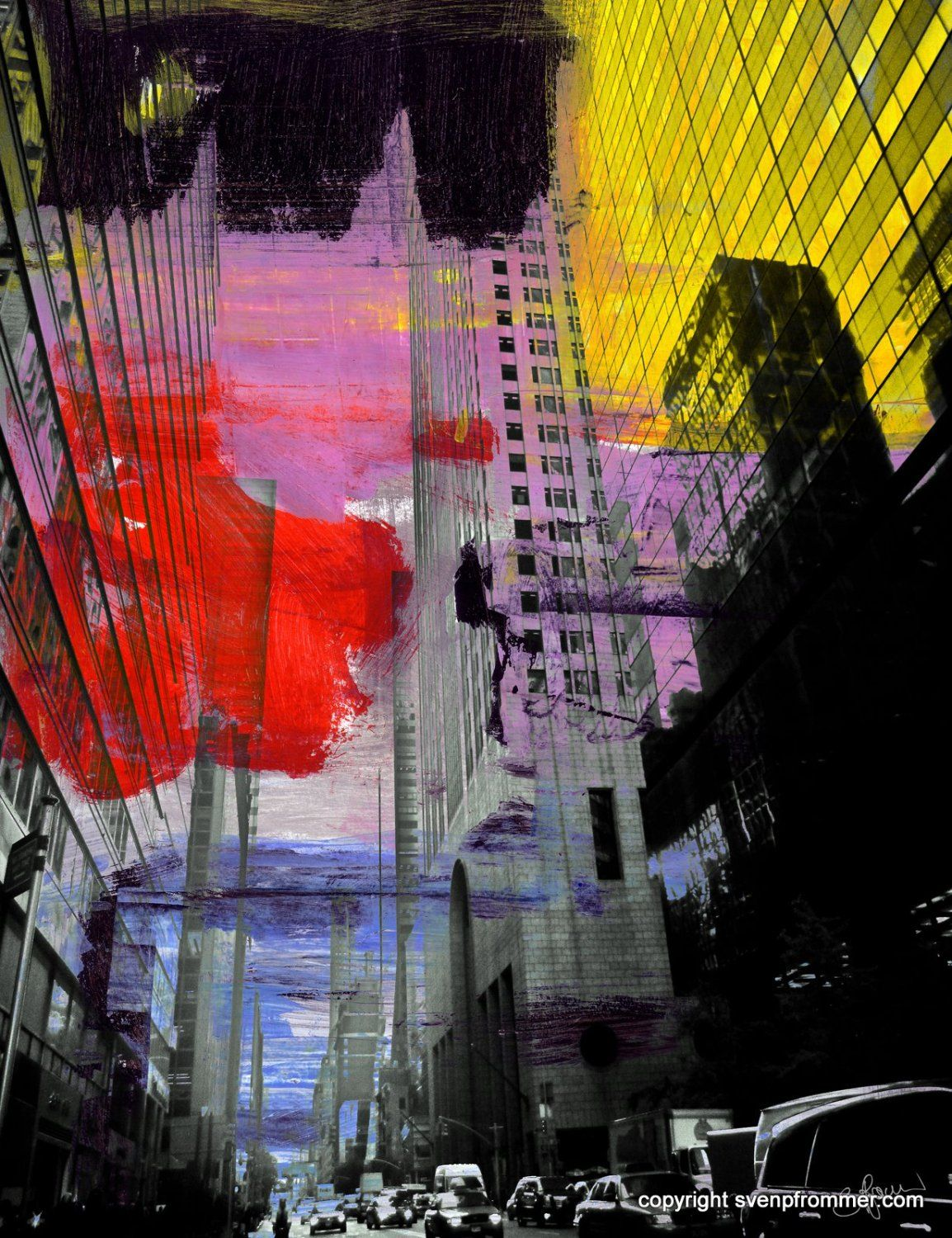 NEW YORK MIXED MEDIA III - Sven Pfrommer // visual art & photography