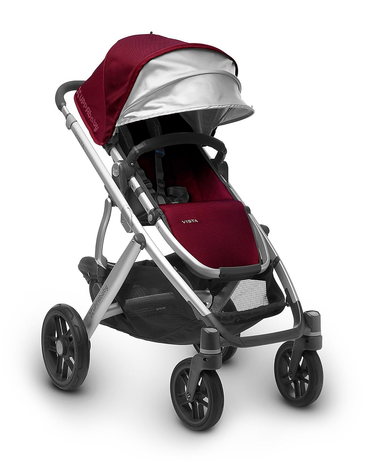 The 2017 UPPAbaby VISTA is narrower, lighter and includes