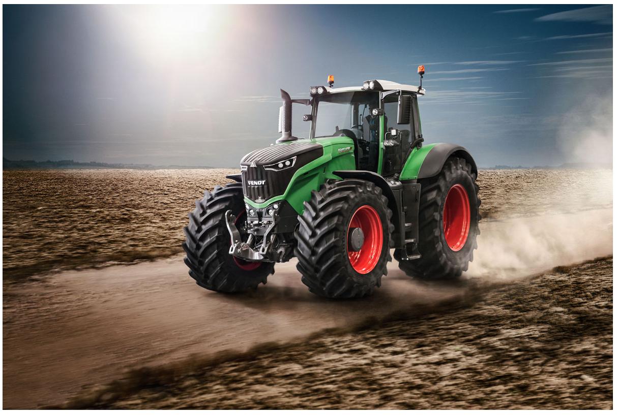 fendt 1050 vario © werkbild  fendt fendt vario traktoren