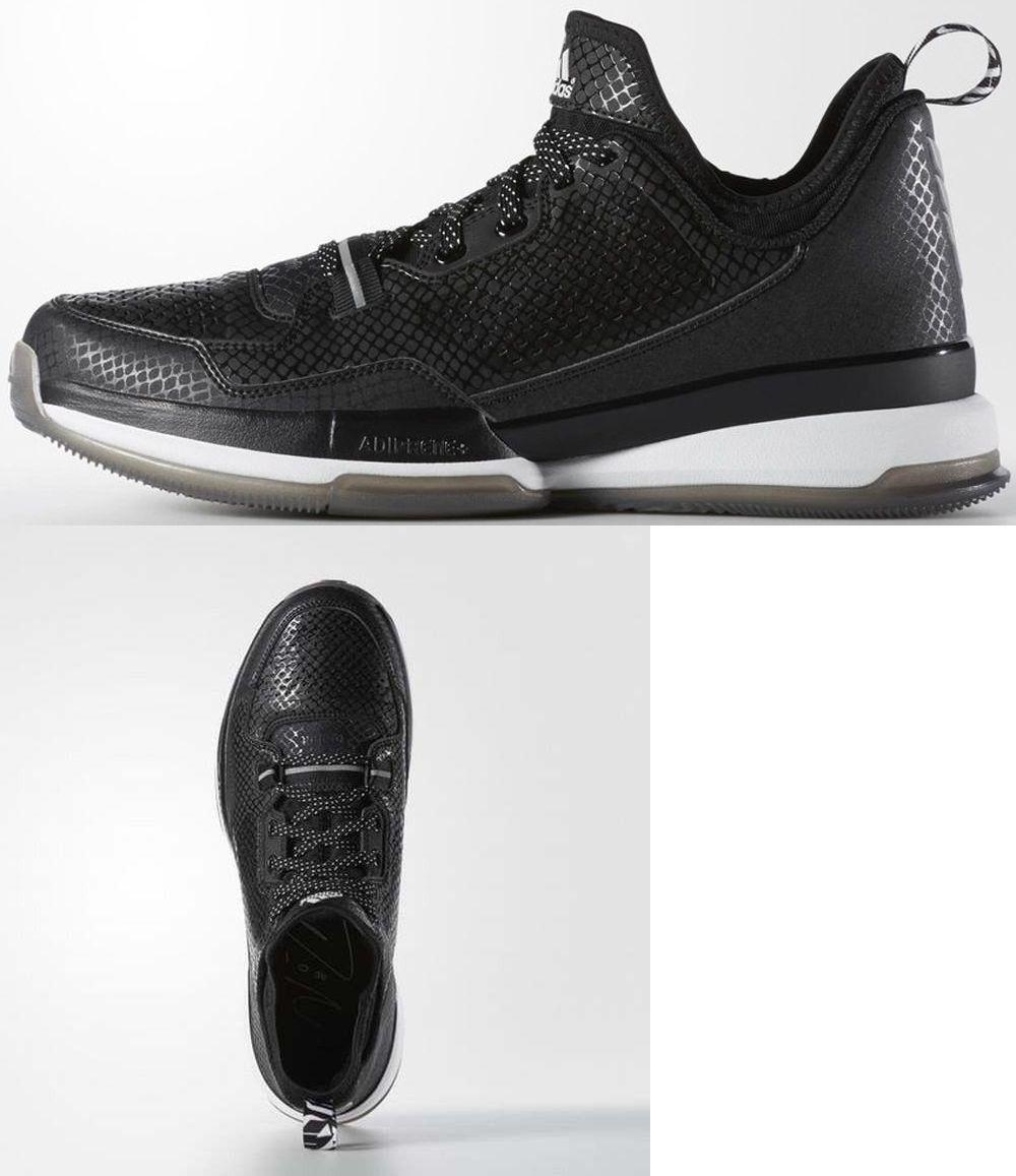 Hombre 158971 Zapatos Adidas Hombre D Lillard Basketball Zapatos 158971 (Negro) S85767 Sz edd1e4