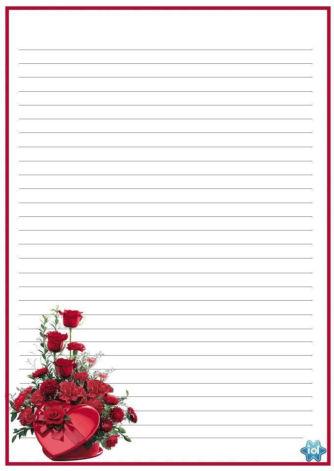 Шаблоны для письма любимому
