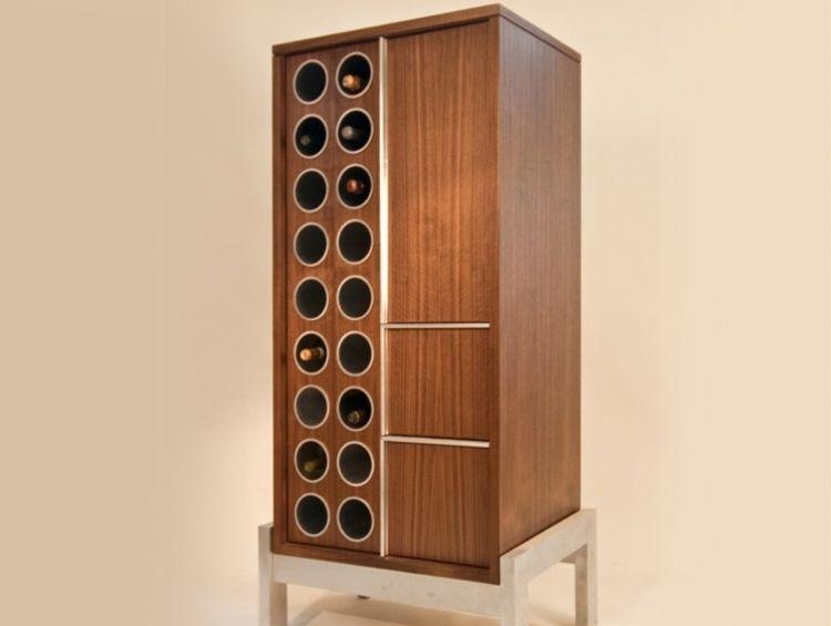 Muebles para vinos y copas minimalistas buscar con google vineros pinterest minimalistas - Muebles para vino ...