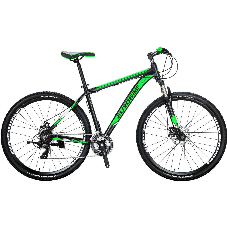 Mens Mountain Bike Shimano 21 Speed Aluminium Disc Brakes Bicycle