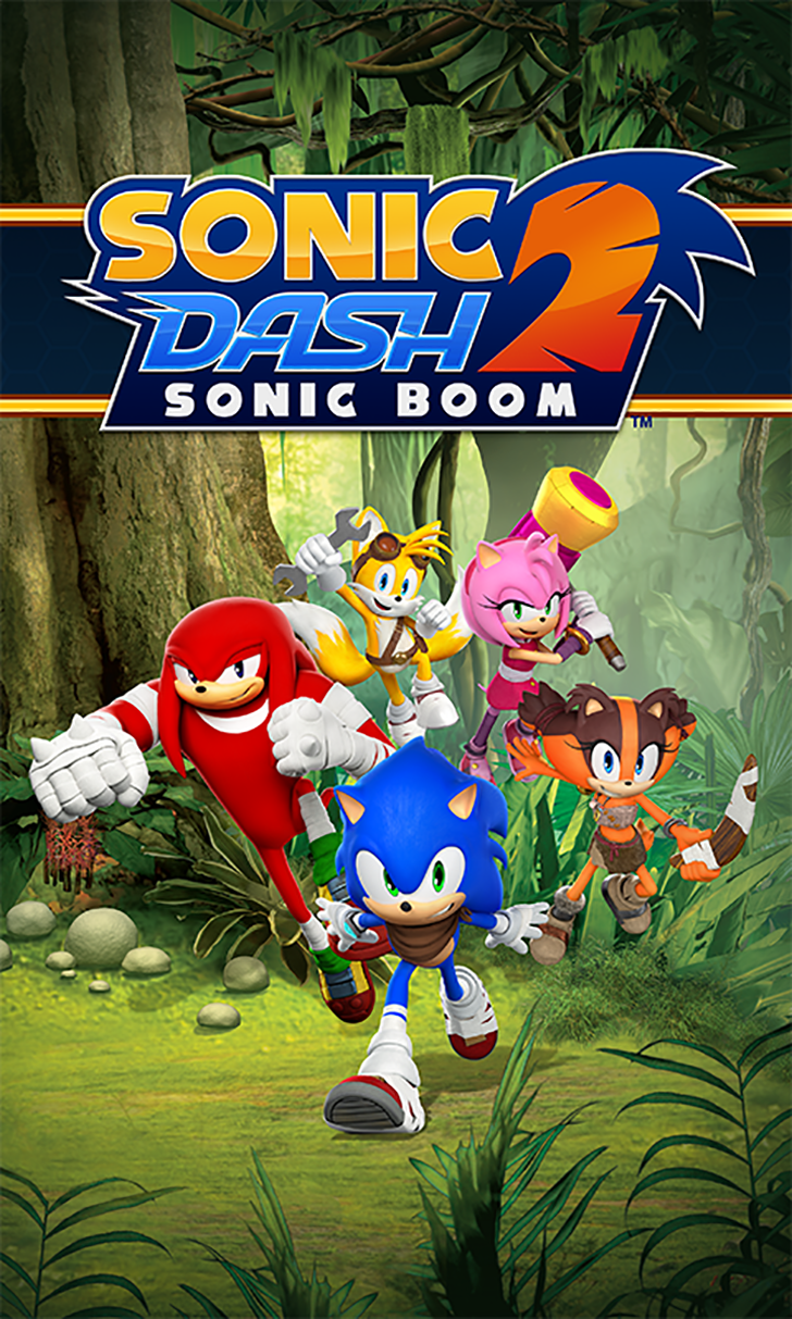Sonic Dash 2 Sonic Boom App Sonic dash, Sonic boom, Sonic